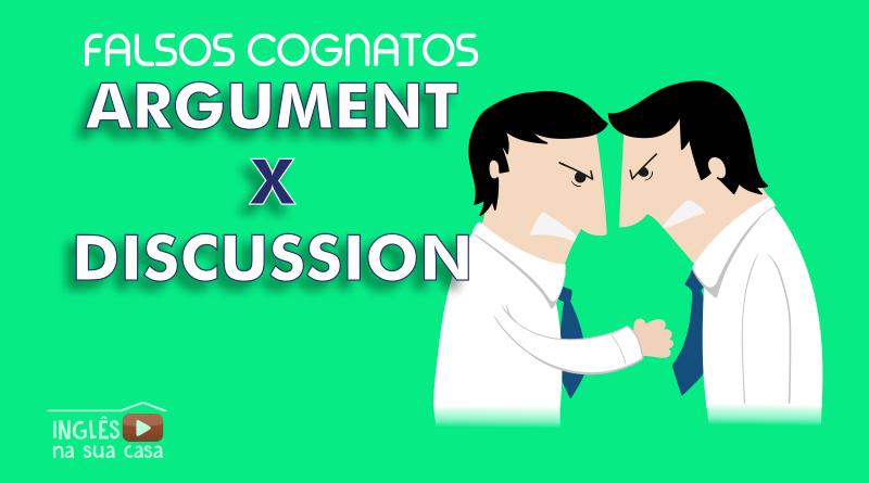 O que significa argument?