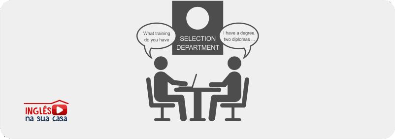 Perguntas mais frequentes em entrevista de emprego em inglês