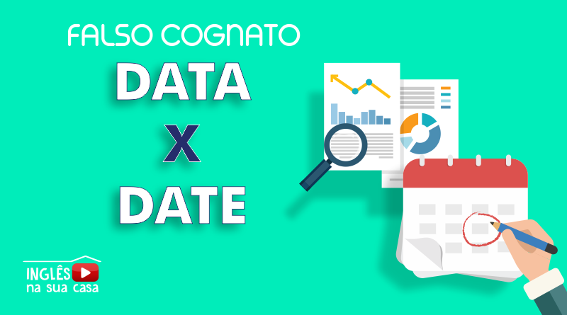 falso cognatos data x date