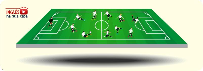 expressões úteis sobre o futebol em inglês